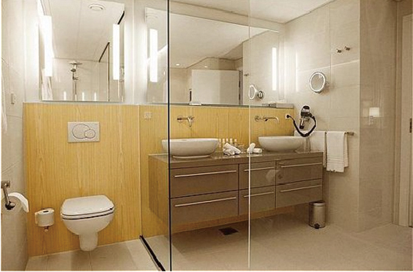CRW Bathrooms for Ontario Tower Project